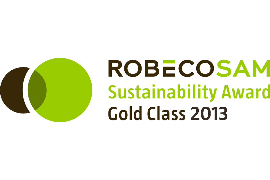 "The RobecoSAM Sustainability Award Gold Class 2013 was conferred upon Henkel for its performance in the ""Nondurable Household Products"" market sector"