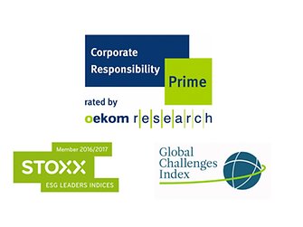 Logos sustainability ratings